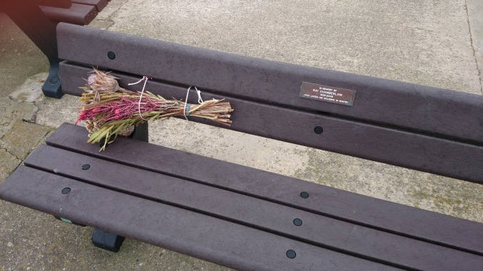 Whitby Memorial Bench