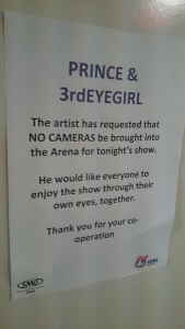 Prince and 3rdEYEGIRL Manchester