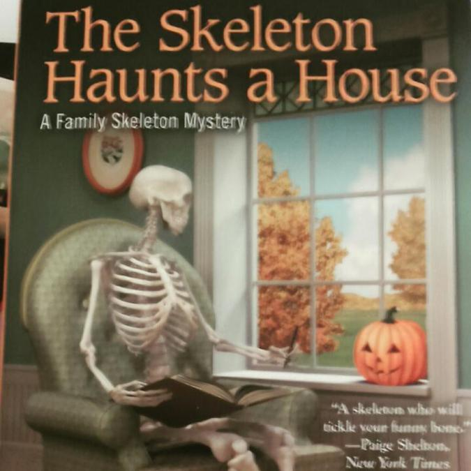 The Skeleton Haunts A House