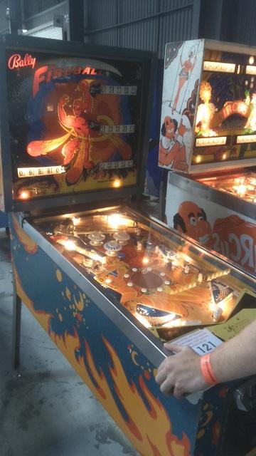 Fireball Pinball Play Expo Manchester 2016