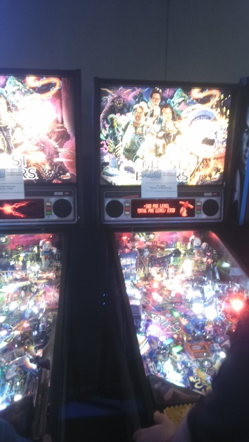 Ghostbusters Pinball Play Expo Manchester 2016