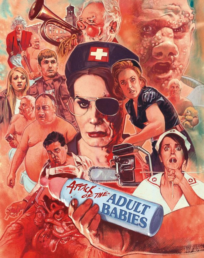 Attack of the Adult Babies Derby Film Festival 2018